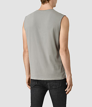 Uomo Mehson Crew T-Shirt (Putty) - product_image_alt_text_3