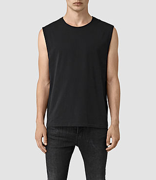 Mens Mehson Crew T-Shirt (Black)