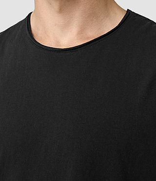 Uomo Mehson Crew T-Shirt (Black) - product_image_alt_text_2