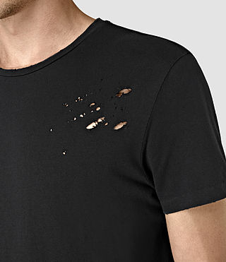 Herren Anchor Crew T-Shirt (Black) - product_image_alt_text_2