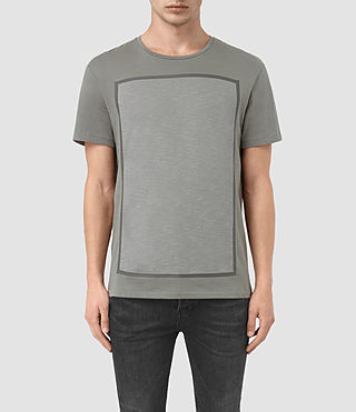 Uomo Blanco Ss Crew (Pewter Grey)