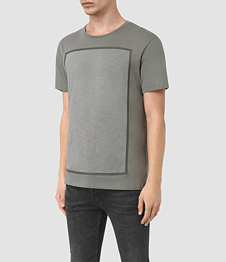 Men's Blanco Crew T-Shirt (Pewter Grey) - product_image_alt_text_2