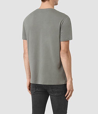 Men's Blanco Crew T-Shirt (Pewter Grey) - product_image_alt_text_3