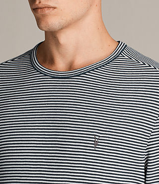 Uomo T-shirt Rift Stripe (CHALK WHITE/BLUE) - Image 2