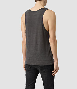 Mens Cadfer Montaud Tank (Grey/Black) - product_image_alt_text_3