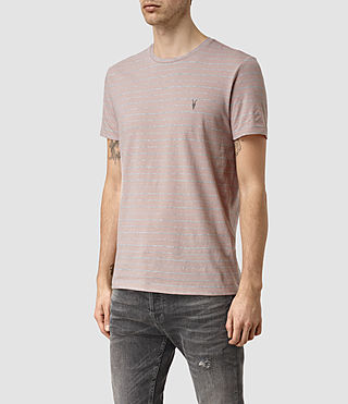 Uomo August Tonic Crew T-Shirt (Sphinx PNK/GRY MRL) - product_image_alt_text_2