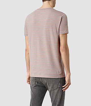 Uomo August Tonic Crew T-Shirt (Sphinx PNK/GRY MRL) - product_image_alt_text_3