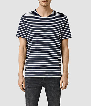 Uomo Minala Crew T-Shirt (Ink/Chalk)