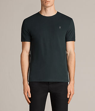 Mens Brace Tonic Crew T-Shirt (Racing Green) - Image 1