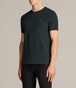 Mens Brace Tonic Crew T-Shirt (Racing Green) - Image 3