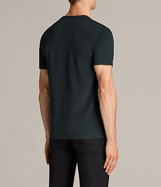 Mens Brace Tonic Crew T-Shirt (Racing Green) - Image 4