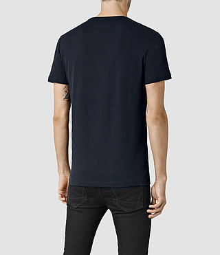 Hombres Brace Tonic Crew T-Shirt (Ink) - product_image_alt_text_3