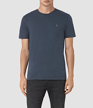 Mens Brace Tonic Crew T-Shirt (Workers Blue) - product_image_alt_text_1