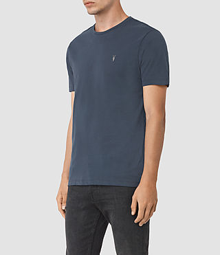 Men's Brace Tonic Crew T-Shirt (Workers Blue) - product_image_alt_text_2