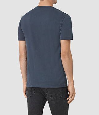 Mens Brace Tonic Crew T-Shirt (Workers Blue) - product_image_alt_text_3