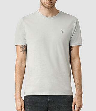 Uomo Brace Tonic Crew T-Shirt (MIRAGE BLUE) -