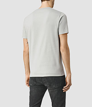 Herren Brace Tonic Crew T-Shirt (MIRAGE BLUE) - product_image_alt_text_4