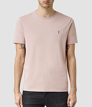 Men's Brace Tonic Crew T-Shirt (Sphinx Pink)