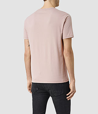 Hombres Brace Tonic Crew T-Shirt (Sphinx Pink) - product_image_alt_text_4