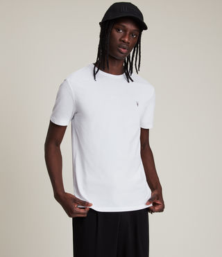 Hombres Camiseta Brace Tonic (Optic White) - product_image_alt_text_4