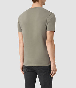 Uomo Brace Tonic Crew T-Shirt (QUARRY GREY) - product_image_alt_text_3