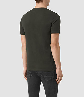 Men's Brace Tonic Crew T-Shirt (Shadow Green) - product_image_alt_text_3