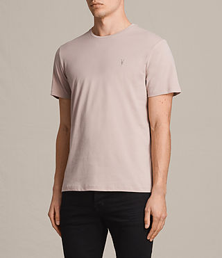 Men's Brace Tonic Crew T-Shirt (SABLE PINK) - Image 3