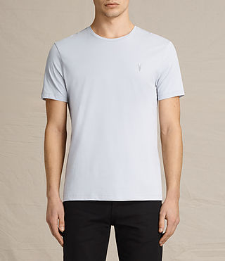 Men's Brace Tonic Crew T-Shirt (DOVE BLUE) - product_image_alt_text_1