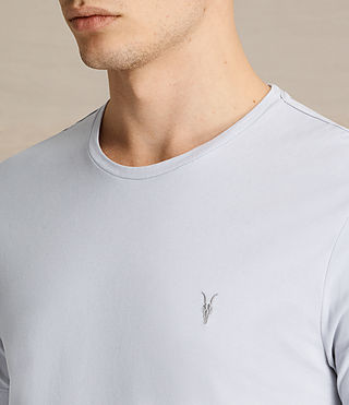 Men's Brace Tonic Crew T-Shirt (DOVE BLUE) - product_image_alt_text_2