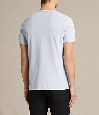 Hommes Brace Tonic Crew T-Shirt (DOVE BLUE) - product_image_alt_text_3