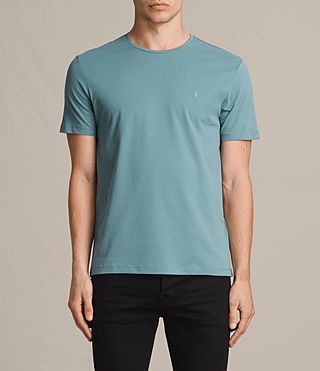 Mens Brace Tonic Crew T-Shirt (MARINE GREEN) - product_image_alt_text_1
