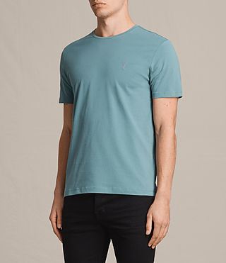 Men's Brace Tonic Crew T-Shirt (MARINE GREEN) - product_image_alt_text_3