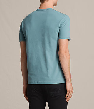 Men's Brace Tonic Crew T-Shirt (MARINE GREEN) - product_image_alt_text_4