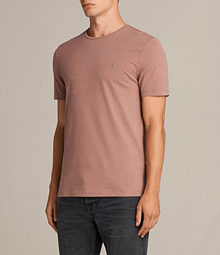 Hombre Brace Tonic Crew T-Shirt (TREACLE RED) - product_image_alt_text_3