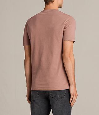 Hombre Brace Tonic Crew T-Shirt (TREACLE RED) - product_image_alt_text_4