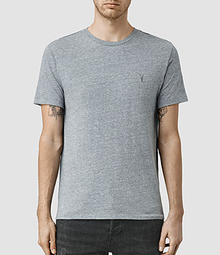 Hombres Tonic Panel Crew T-Shirt (Vtng Ink Marl)