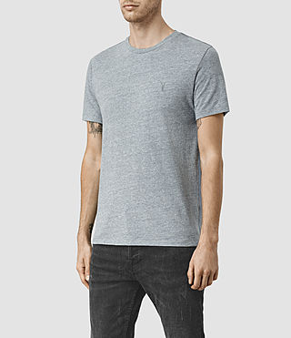 Hommes Tonic Panel Crew T-Shirt (Vtng Ink Marl) - product_image_alt_text_3