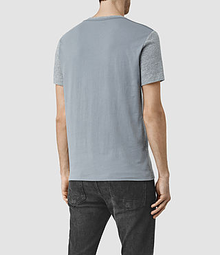 Mens Tonic Panel Crew T-Shirt (Vtng Ink Marl) - product_image_alt_text_4