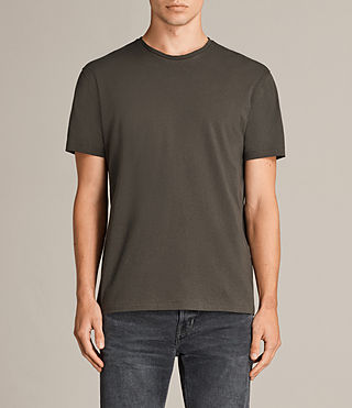 Hommes T-shirt Migure (Khaki Brown) - Image 1