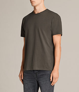 Hommes T-shirt Migure (Khaki Brown) - Image 2