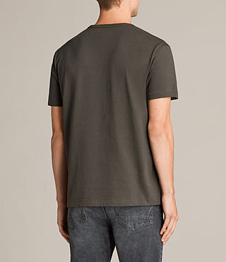 Hommes T-shirt Migure (Khaki Brown) - Image 3