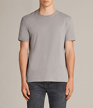 Herren Migure Crew T-Shirt (Putty Brown) -