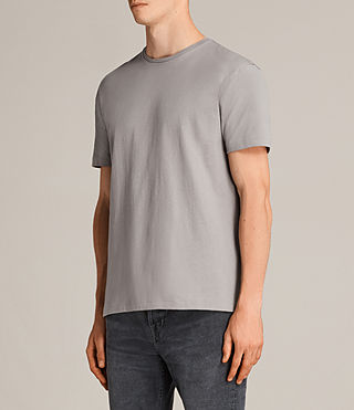Herren Migure Crew T-Shirt (Putty Brown) - product_image_alt_text_2