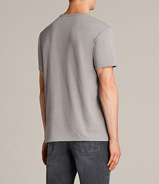 Mens Migure Crew T-Shirt (Putty Brown) - Image 3