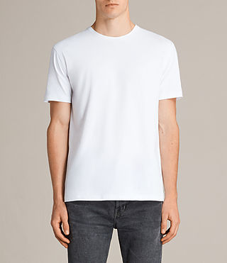 Men's Migure Crew T-Shirt (Optic White) - Image 1