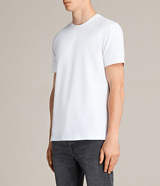 Men's Migure Crew T-Shirt (Optic White) - Image 2