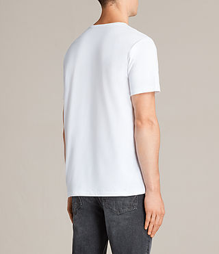 Men's Migure Crew T-Shirt (Optic White) - Image 3