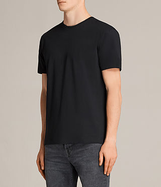 Men's Migure Crew T-Shirt (Jet Black) - Image 2