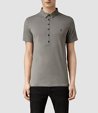 Mens Velop Polo (Pewter)