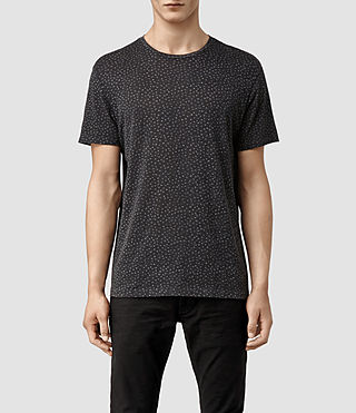 Mens Swallow Crew T-shirt (BLACK/CHALK)